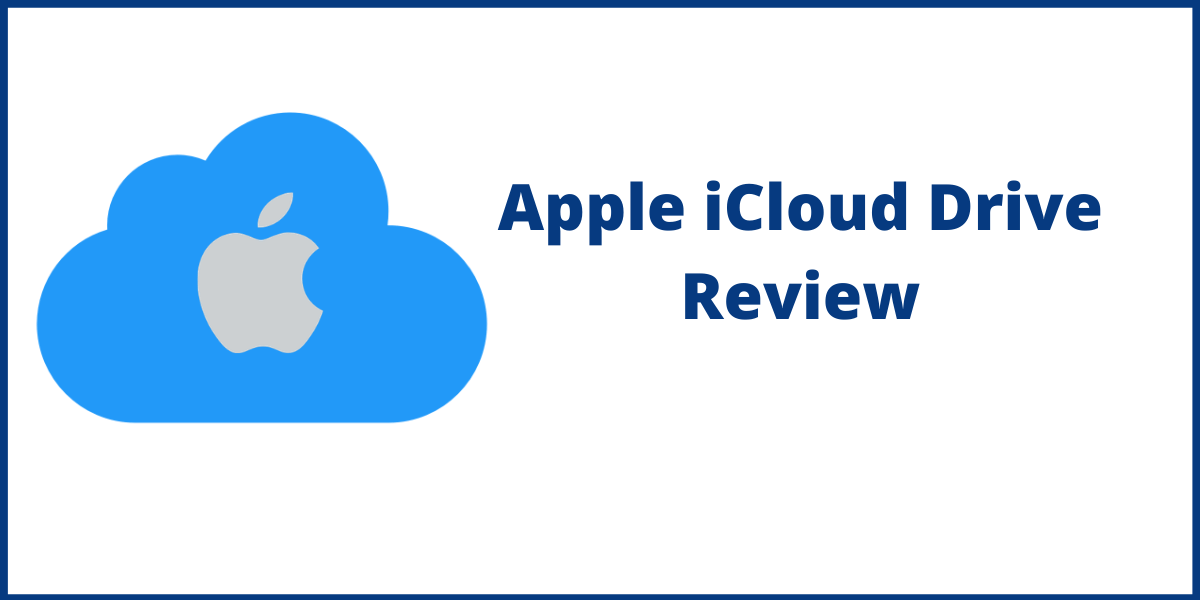 Apple iCloud Drive Review