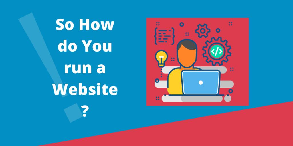 How to run a Website?