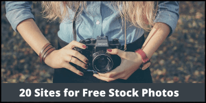 20 Sites for Free Stock Photos