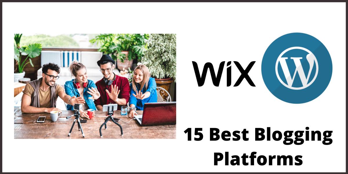 15 Best Blogging Platforms