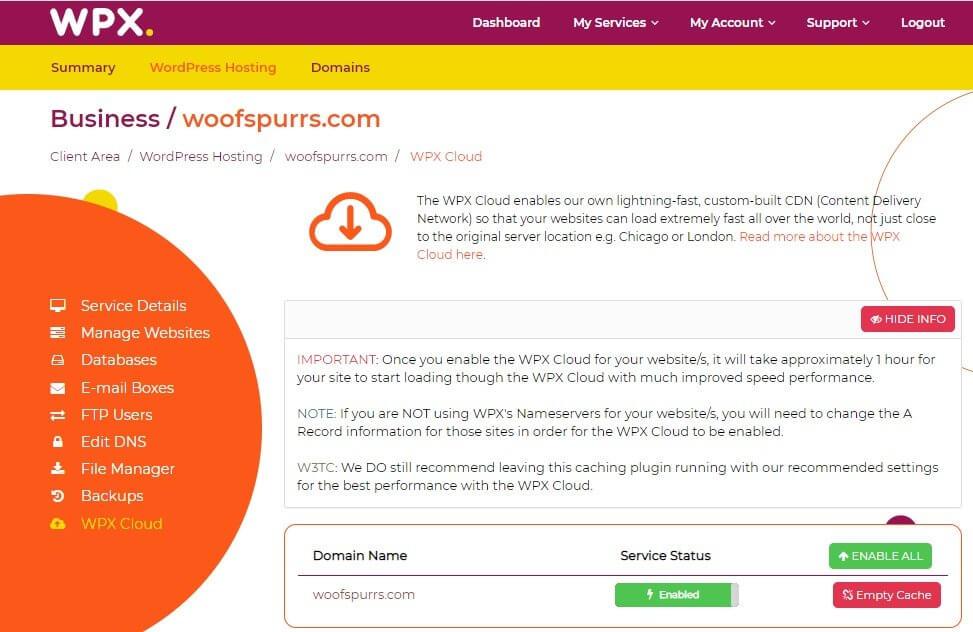 WPX Managed Hosting